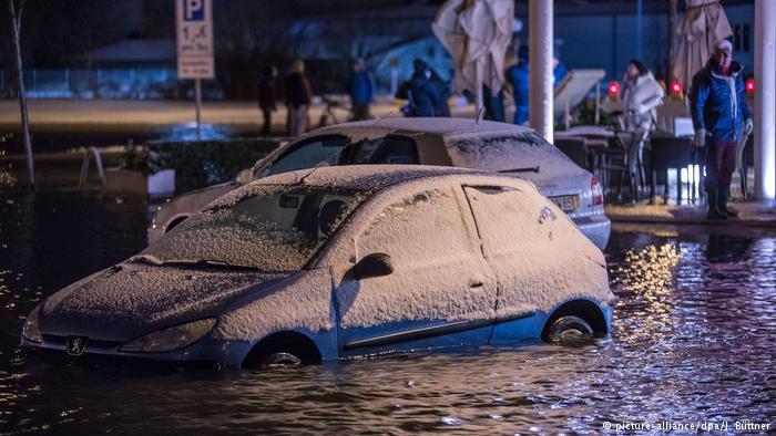 Alemania vive la peor marejada ciclónica en diez años