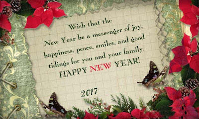 Happy New Year 2017 Card for Lover