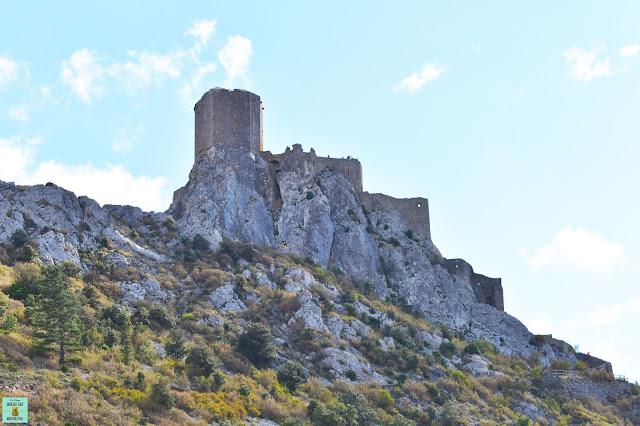 Castillo de Quéribus, Francia