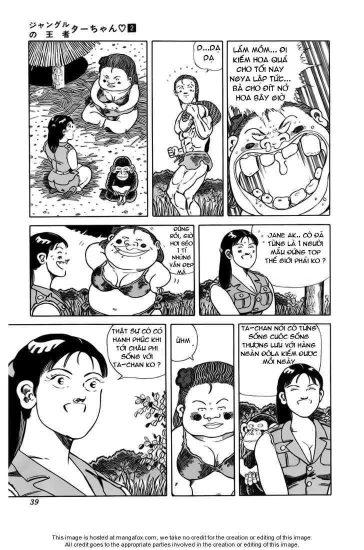 Chúa rừng Ta-chan chapter 21 trang 6