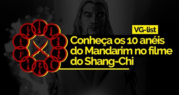 VG-List | Conheça os 10 anéis do Mandarim no filme do Shang-Chi