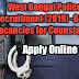 West Bengal Police Recruitment (2019)-8419 Posts For Constable