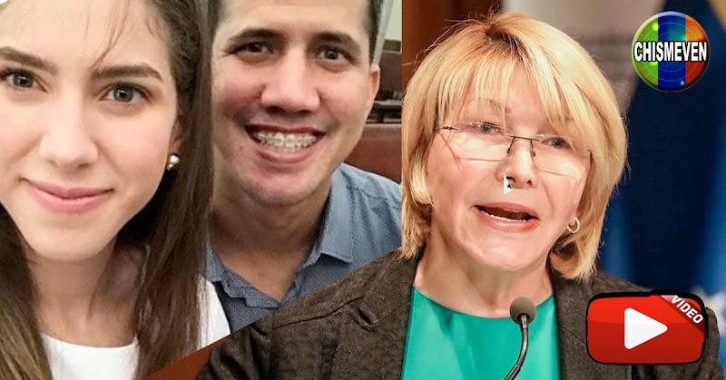 Concubina de Guaidó feliz en su conversación con Luisa Ortega Díaz