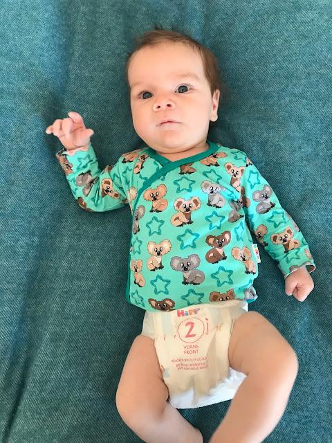 HIPP Babysanft Windeln - Größe 2 mit 8 Wochen