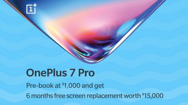 OnePlus 7 Pro Pre-bookings started in India