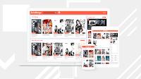 Zeist Manga Blogger Template free download