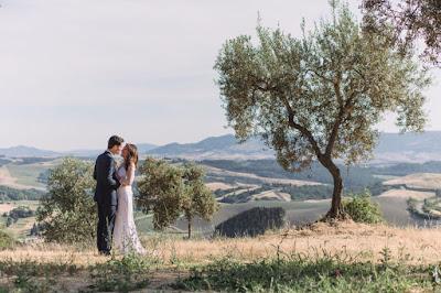 foto matrimonio ecologico sposi