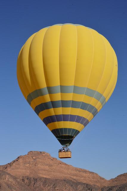 Montgolfiere au Wadi Rum
