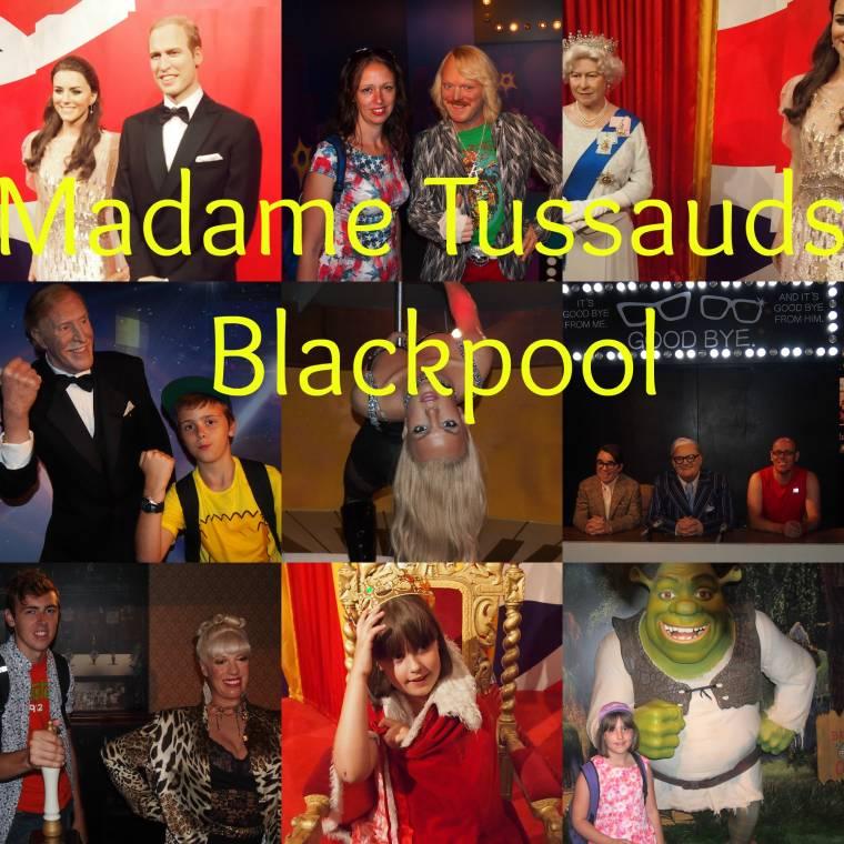 Madame Tussauds Blackpool: Creative Flashback Friday