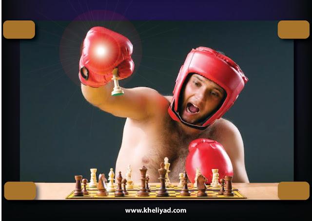 Chess Boxing : चाली रचा, नाही तर ठोसे द्या...!