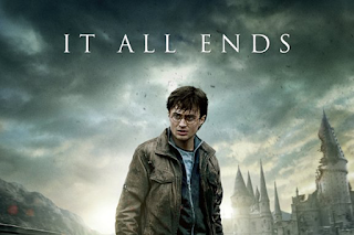 Deathly Hallows part 2 UK poster