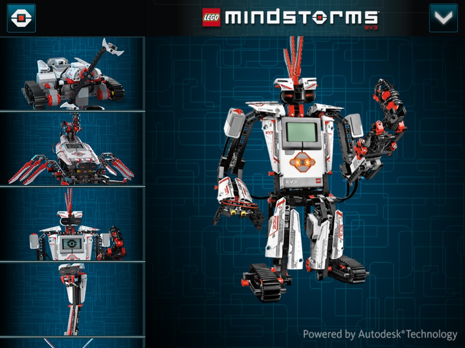 Inventor Topix Autodesk And Lego Partner Up To Provide 3d Building Instructions For Mindstorms Ev3