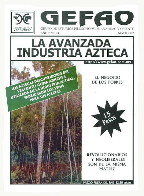 La Avanzada Industria Azteca Revista GEFAO