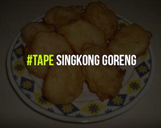 Tape Singkong Goreng