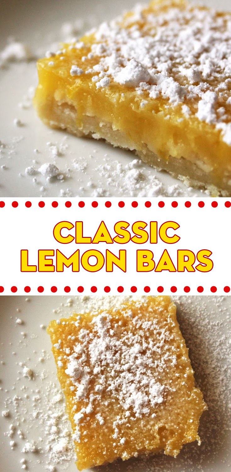 Easy Lemon Bars With Angel Food Cake Mix