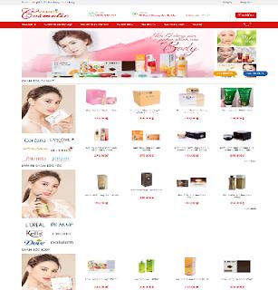 Template blogspot bán hàng responsive full