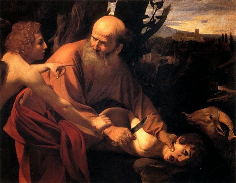 O Sacrifício de Isaque - Caravaggio e suas principais pinturas ~ O gênio rebelde