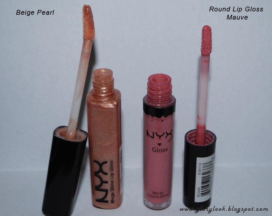 Обзор блесков для губ от NYX - Beige Pearl, Salsa, Chandelier, Mauve