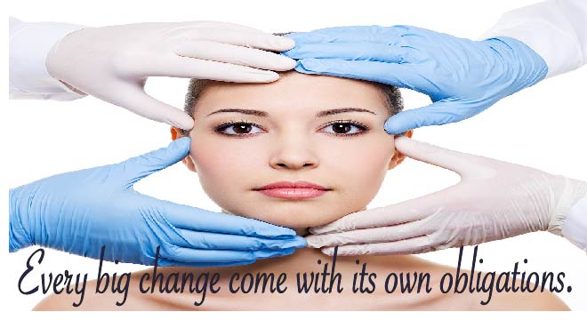Plastic surgery can help but the patient also has some obligations