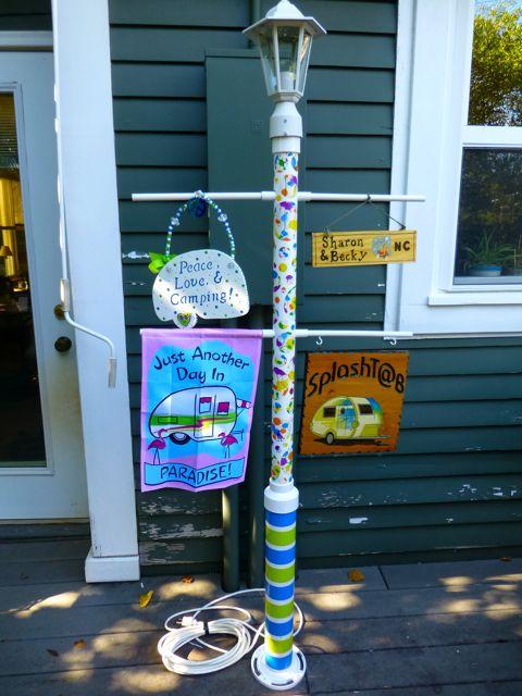 SplashT@B Stories: Lamp Post Finishing Touches