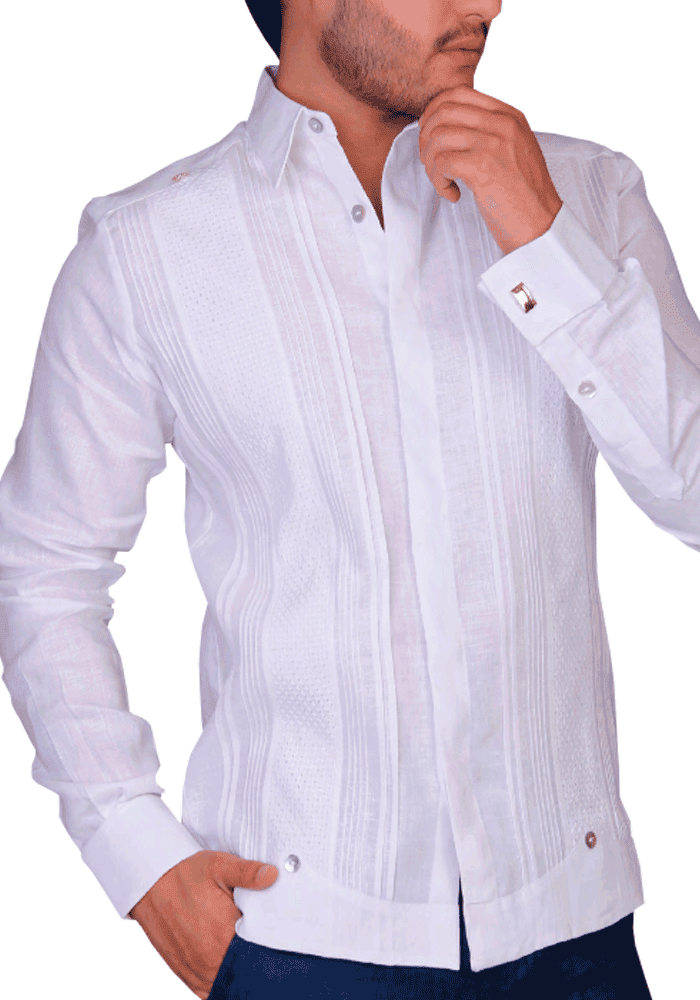 fe52d20881 New Style French Cuff Guayaberas