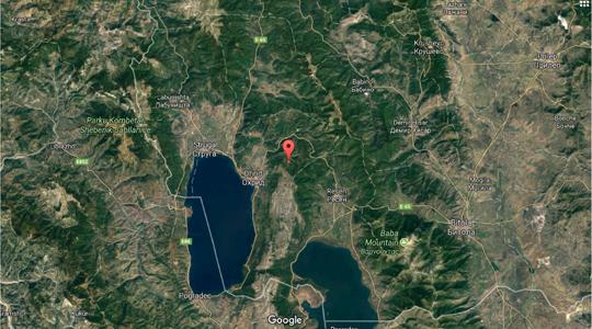 Leichtes Erdbeben in Ohrid, Struga, Resen Region