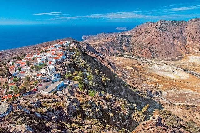 Στα σκαριά ένα σύγχρονο ηφαιστειακό παρατηρητήριο στην Νίσυρο
