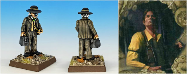 Vincent Lee doctor painted miniature