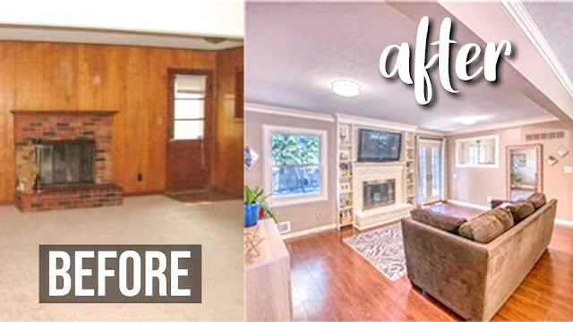 renovations, low budget, house tour, renovate, video, youtube, family, before and after, affordable, low income