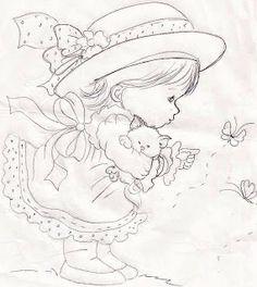 Meninas com chapéu