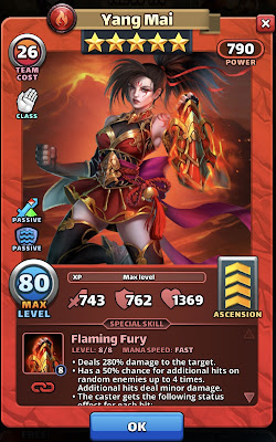 Yang Mai Hero of the Month in Empires & Puzzles for May 2021