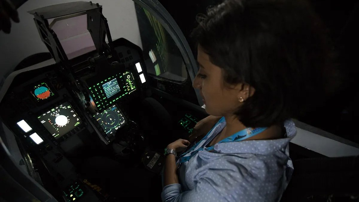 Flight Simulator - LCA Tejas - 01