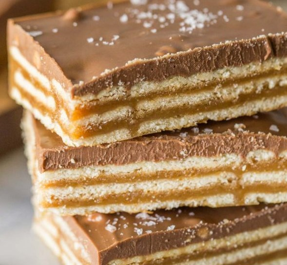 SALT RIVER BARS #chocolate #desserts