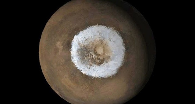 The formation and dynamics of the ice cap of the South Pole of Mars finally explained