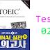Listening New TOEIC Ending - Test 02