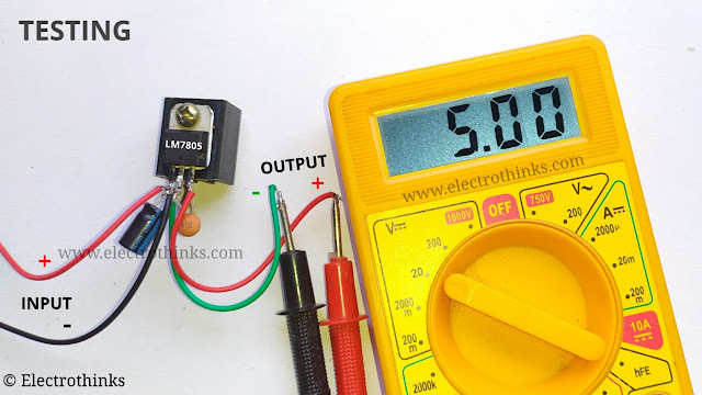 DC to DC Step Down Power Supply Demo and Testing