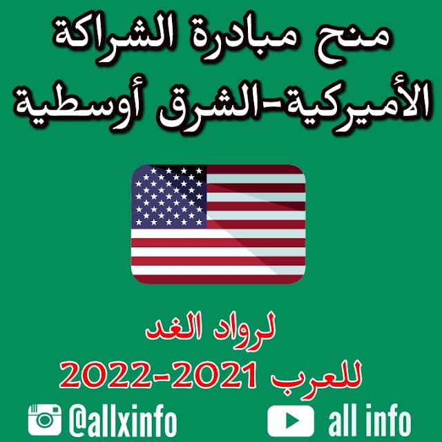 منح مبادرة الشراكة الأميركية-الشرق أوسطية لرواد الغد للعرب 2021-2022
