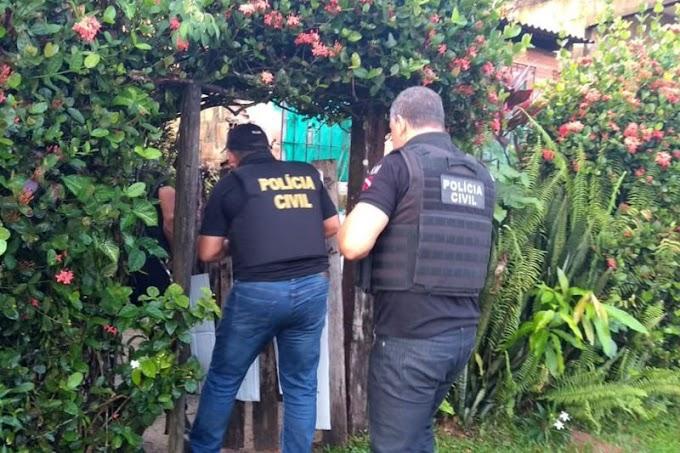 Polícia Civil cumpre mandados de prisão de autores de crimes contra o patrimônio