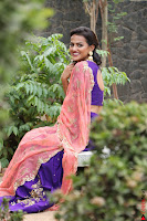 Actress Shraddha Srinath in Purple Chania Choli Cute Pics ~  Exclusive 03.jpg