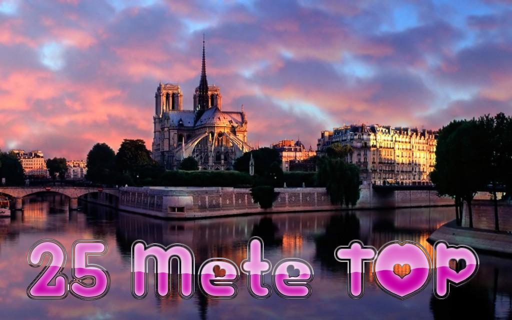 Le 25 destinazioni più belle del Mondo!