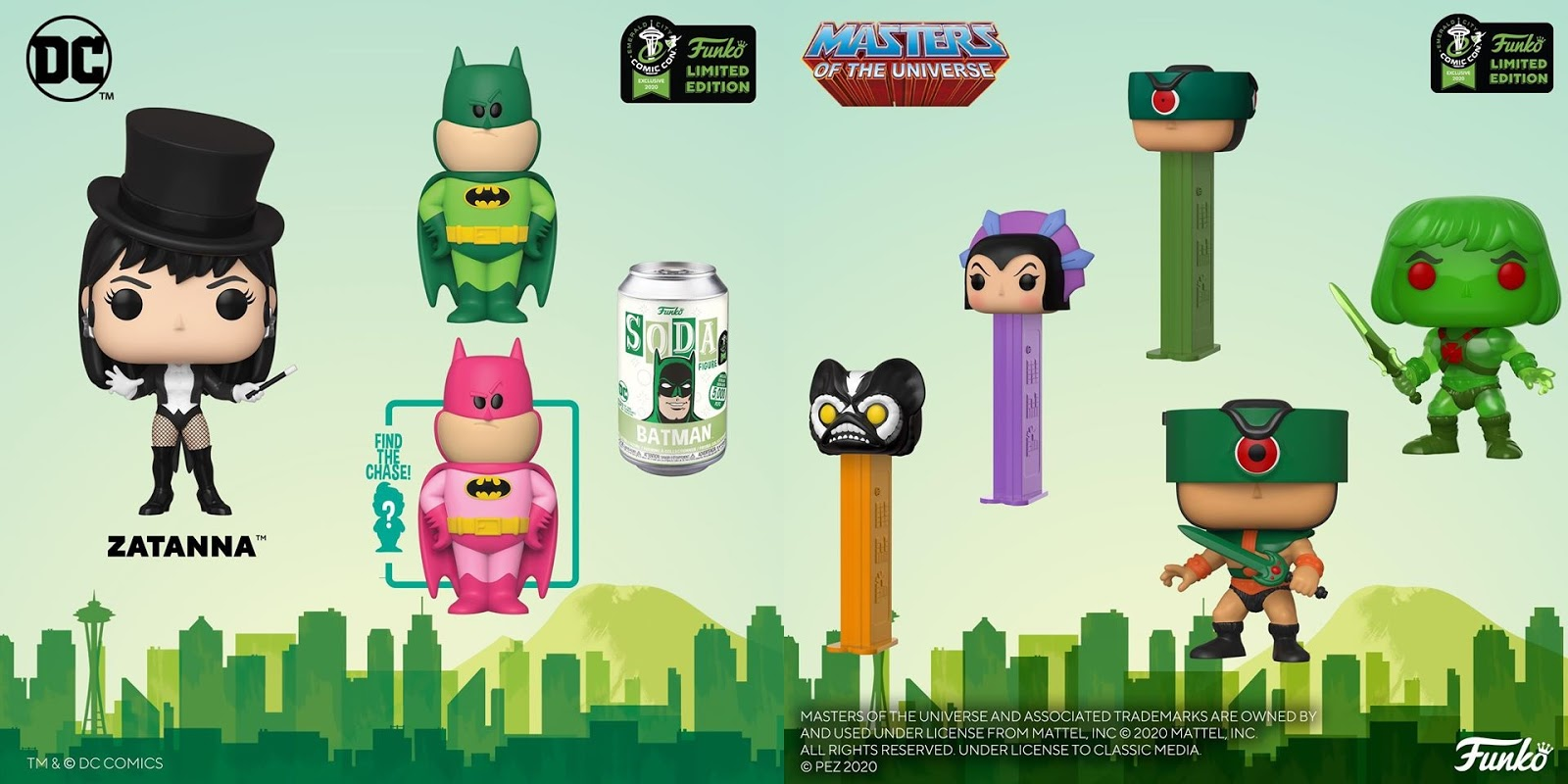 The Blot Says Funko S Emerald City Comic Con 2020 Exclusives Part 1 Batman Dbz Scott Pilgrim Motu More