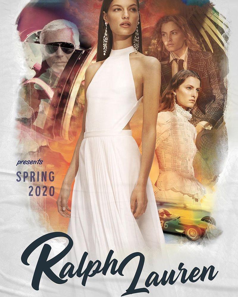 Faretta fronts Ralph Lauren spring-summer 2020 campaign