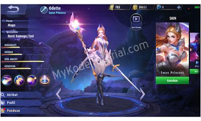 Cara Menggunakan Hero Odette Mobile Legends + Build Item Terbaik