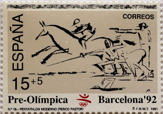 PRE-OLÍMPICA BARCELONA 92. PENTATHLÓN MODERNO