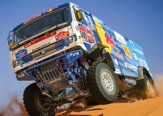 Kamaz Master #509, Currently Leading Dakar 2021