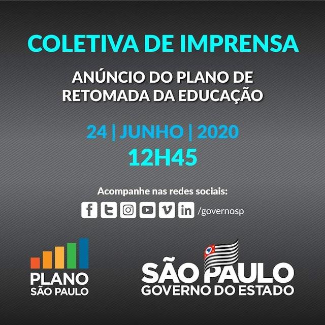 TV AVARÉ - GOVERNO DE SÃO PAULO - RETOMADA DAS AULAS EM SP