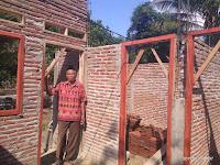 Pekerjaan Macet, Penerima Bantuan Rumah 'Insitu' di Kelurahan Jatibaru Pertanyakan Alur Dana Rp69 juta