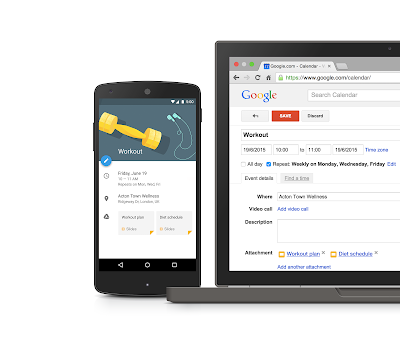 Attach Google Drive files to Calendar events with the Calendar API - Google Apps Developer Blog