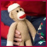 Mono navideño amigurumi