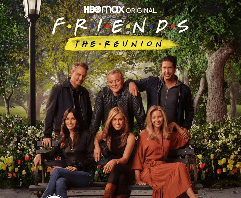 The entire cast of Friends (Photo from When in Manila)